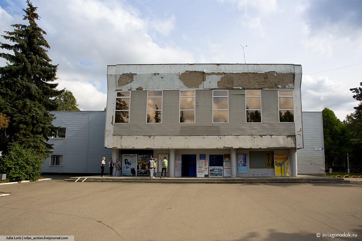 Во время реконструкции фасада