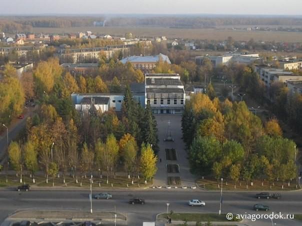 Вид из Олимпийского дома